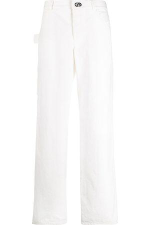 Bottega Veneta Straight-leg high-waisted jeans