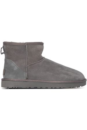 UGG Classic Mini II shearling ankle boots - Grey