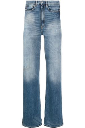 Acne Studios Distressed straight-leg jeans