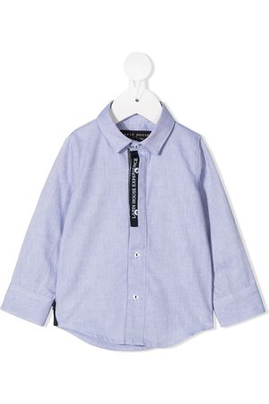 Lapin House Logo button-down shirt