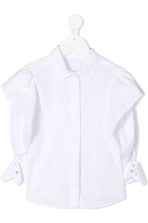 Lapin House Ruffle long-sleeve shirt