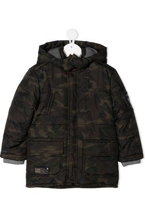 Lapin House Boys Parkas - Camouflage print parka coat