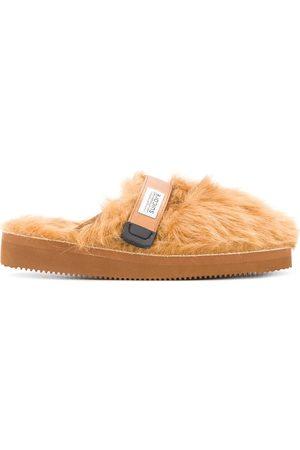 SUICOKE Zavo faux fur slippers