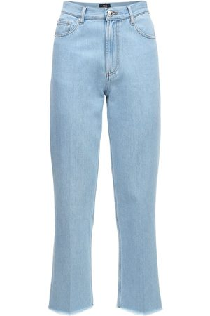 A.P.C Rudie Cotton Denim Straight Leg Jeans
