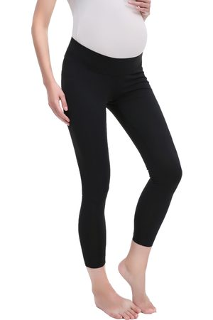 Kimi and Kai Women's Nikki Maternity Ankle Leggings