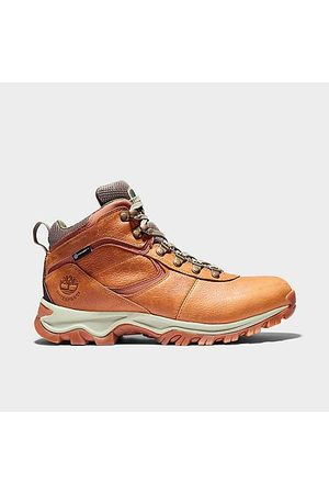 Timberland Men's Mt. Maddsen Mid Waterproof Hiking Boots in Size 7.0 Leather/Plastic