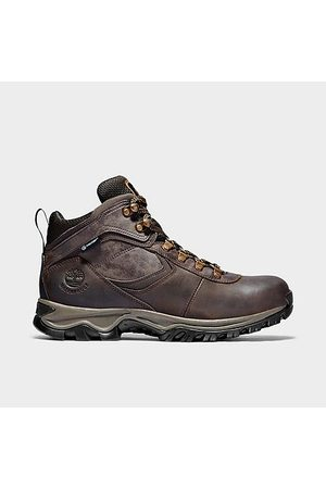 Timberland Men's Mt. Maddsen Mid Waterproof Hiking Boots in /Dark Size 7.5 Leather/Plastic