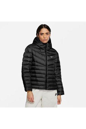 Nike Women Jackets - Women's Sportswear Down-Fill Windrunner Jacket in Size X-Small 100% Polyester