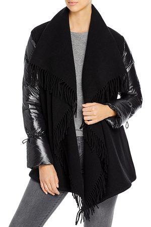 Moncler Mantella Puffer Sleeve Cardigan Coat