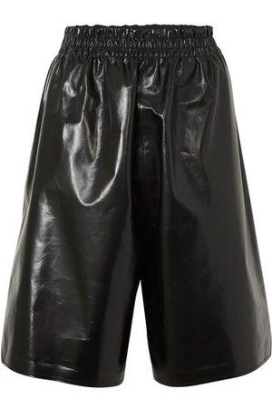 Bottega Veneta Shiny leather pants
