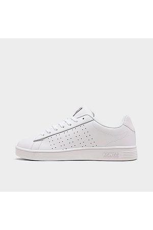 K-Swiss Big Kids' Court Casper Casual Shoes in Size 4.0 Leather