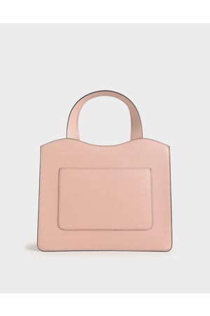 CHARLES & KEITH Bags - Front Pocket Double Top Handle Bag