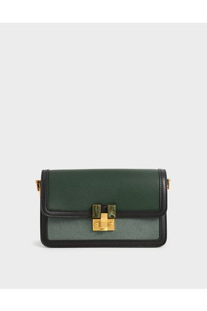 CHARLES & KEITH Women Clutches - Stone-Embellished Clutch