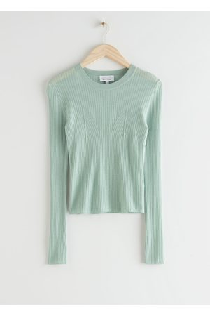 & OTHER STORIES Fitted Wool Knit Top