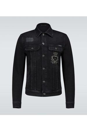 Dolce & Gabbana Denim jacket with logo