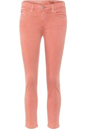 AG Jeans Women Jeans - Prima crop mid-rise cigarette pants