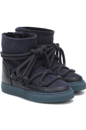 INUIKII Kids Classic suede and leather boots