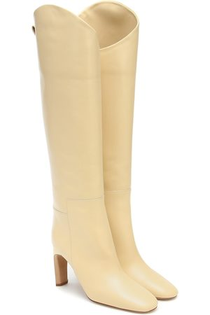 Jil Sander Knee-high leather boots