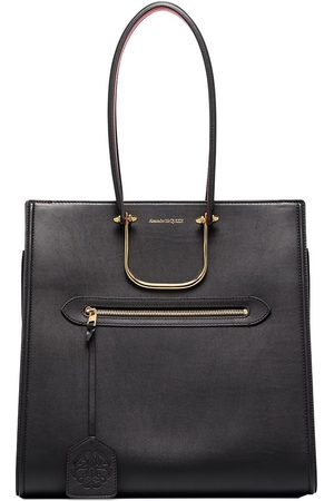 Alexander McQueen The Tall Story leather shoulder bag