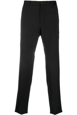 Dolce & Gabbana Side-strap virgin wool trousers