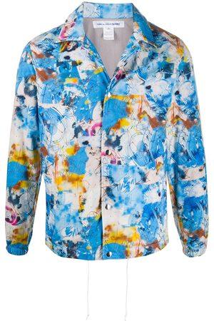 Comme des Garçons Men Bomber Jackets - All-over print bomber jacket