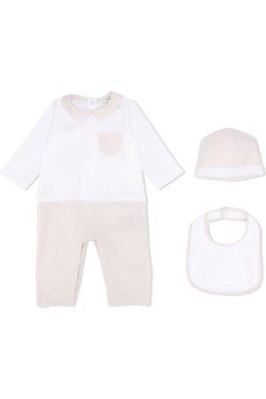 Fendi FF motif babygrow set