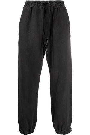 MAUNA KEA Drawstring cotton track pants - Grey