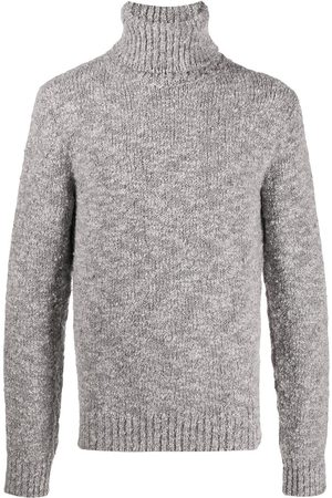 Dolce & Gabbana Roll-neck jumper - Grey