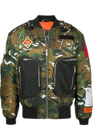 Heron Preston Camouflage-print bomber jacket