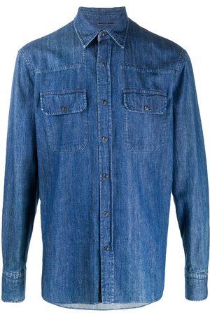 Ermenegildo Zegna Classic denim shirt