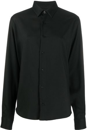 Ami Buttoned long-sleeved shirt