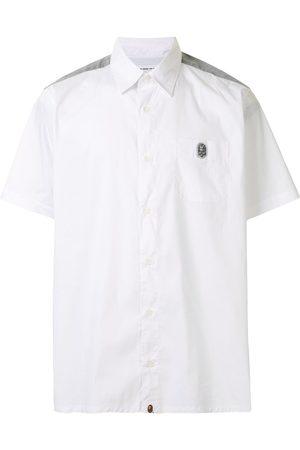 A BATHING APE® Two-tone short-sleeved shirt