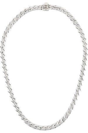 Emanuele Bicocchi Necklaces - Skull-charm chain necklace - Metallic