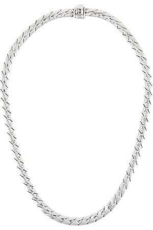 EMANUELE BICOCCHI Skull-charm chain necklace - Metallic