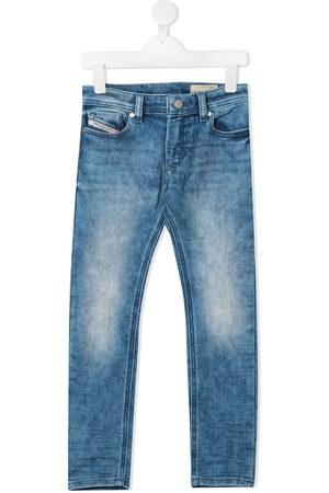 Diesel Straight leg faded jeans