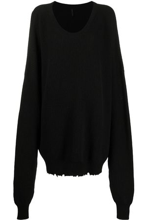 Unravel Project Slouchy long-sleeved jumper
