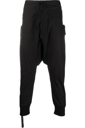 Unravel Project Drop-crotch cropped trousers
