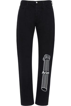 ARIES Column Lilly Cotton Denim Jeans