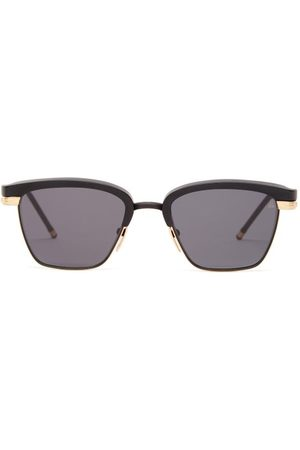 JACQUES MARIE MAGE Nokona Acetate And Titanium Sunglasses - Mens