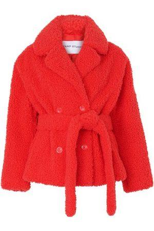 STAND Women Coats - Tiffany belted coat
