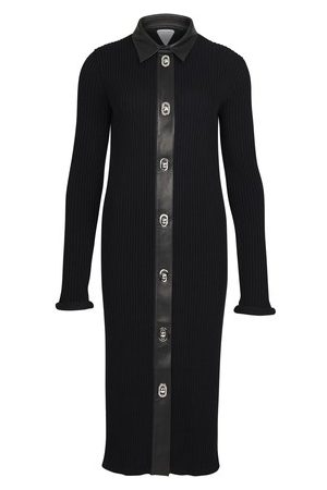 Bottega Veneta Midi merino cotton dress