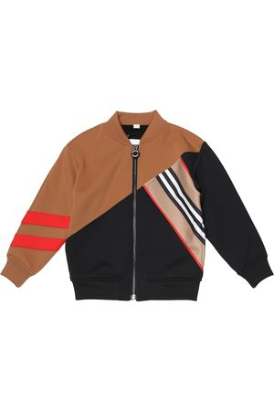 Burberry Technical-jersey track jacket
