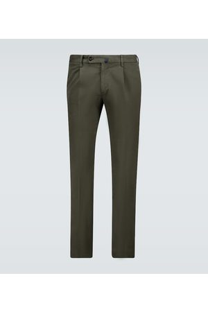 Incotex Slim-fit stretch-cotton chinos