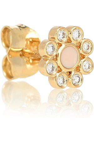 Sydney Evan Crystal-embellished single earring