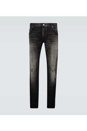 Balmain Slim-fit distressed jeans