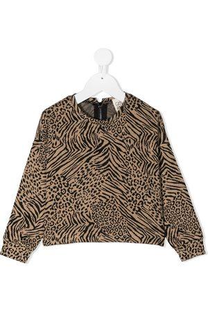 Caffe' D'orzo Animal-pattern sweatshirt - Neutrals