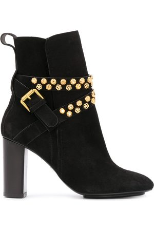 See by Chloé Neo Janis stud-embellished ankle boots