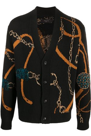 AMIRI Patterned V-neck cardigan
