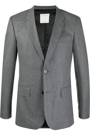Sandro Tailored slim blazer - Grey