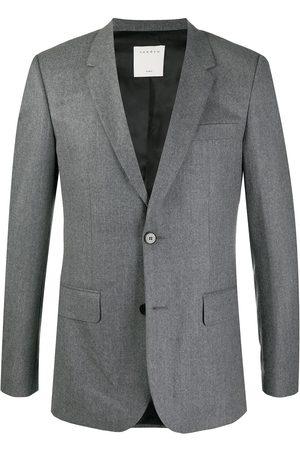 Sandro Tailored slim blazer - Grey